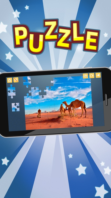 Nature Jigsaw Puzzles Games for Adults. Premium