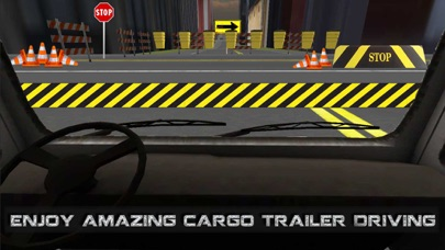 Cargo Trailer Driving Simulation: Truck Delivery Screenshot