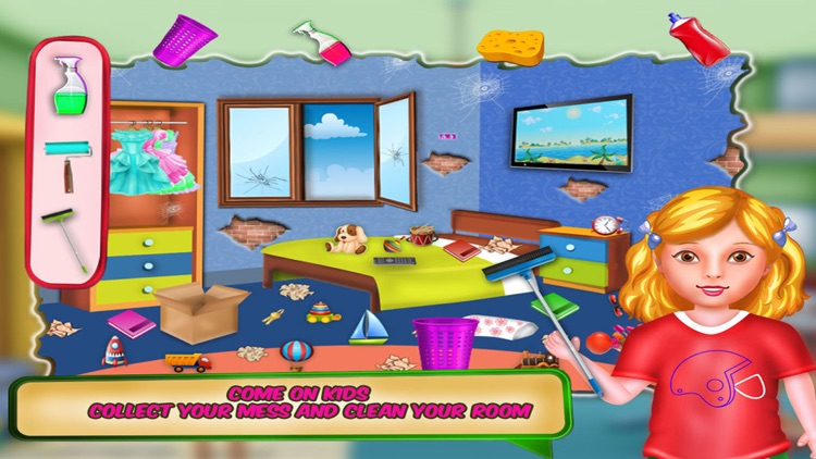 Kids House Cleaning Games
