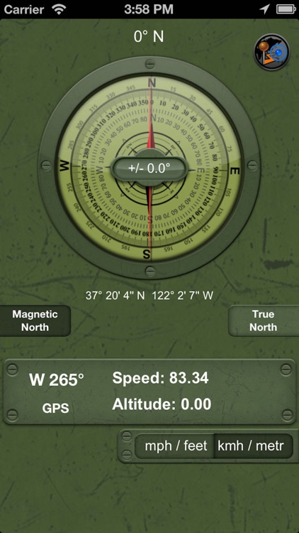 Military Compass+ Lite screenshot-1