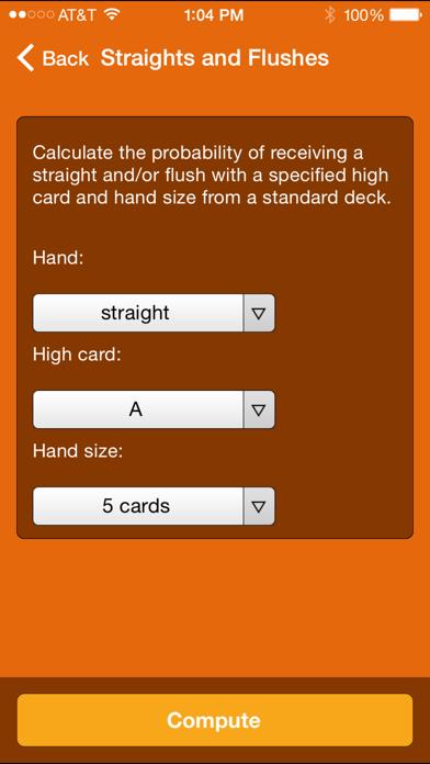 Wolfram Gaming Odds Reference Appのおすすめ画像2