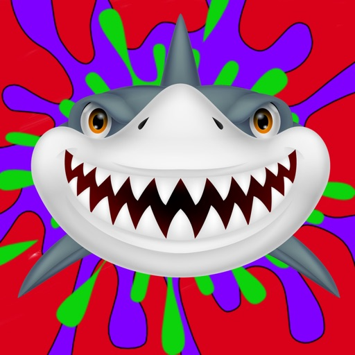Shark Coloring Book For Kids Toddler iOS App