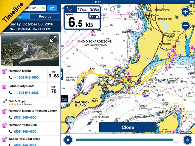 Boating Europe HD screenshot-3