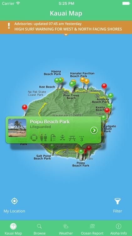 Kauai Beach Guide screenshot-3