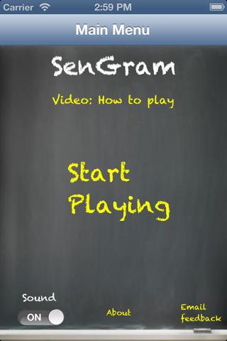 SenGram - Sentence Diagramming - náhled