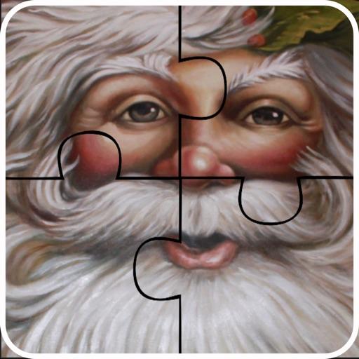 Christmas Santa Jigsaw Puzzle- Fun learning Games