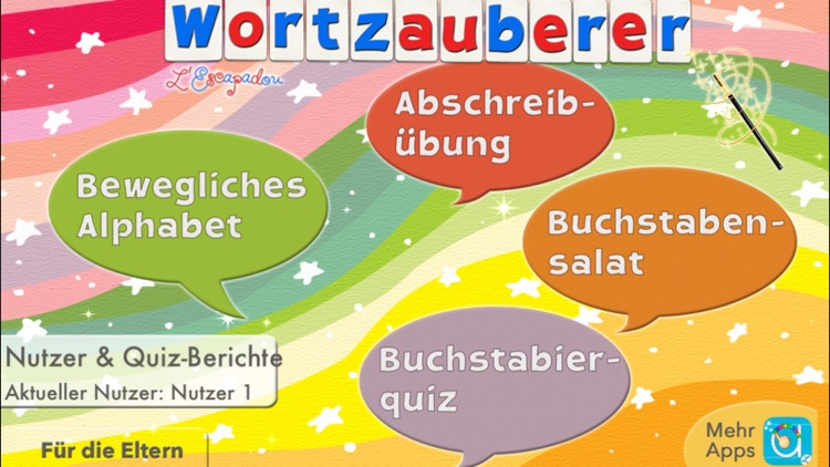 German Word Wizard - Talking Alphabet + Spelling screenshot-0