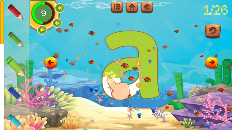 ABC Tracing Alphabet Learn to Writing Letters screenshot-3