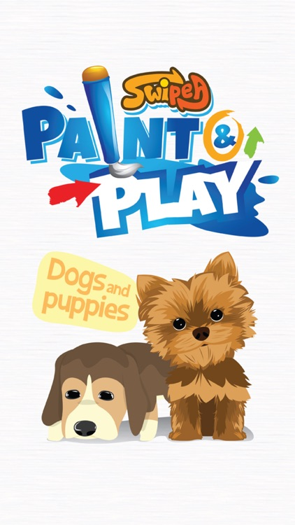 Paint & Play Dogs, Coloring Book For Kids screenshot-4