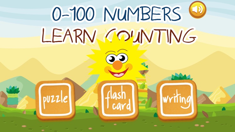 0 to 100 Kids Learn Numbers Flashcards