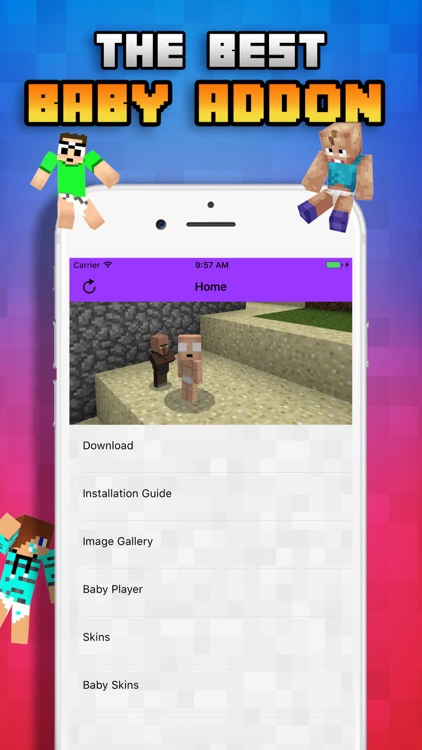 Baby Roleplay for Minecraft Pocket Edition(Add-on)