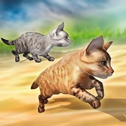 Fastest Pet Cat Racing fun Game