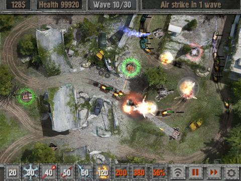 Defense Zone 2 HD на iPad