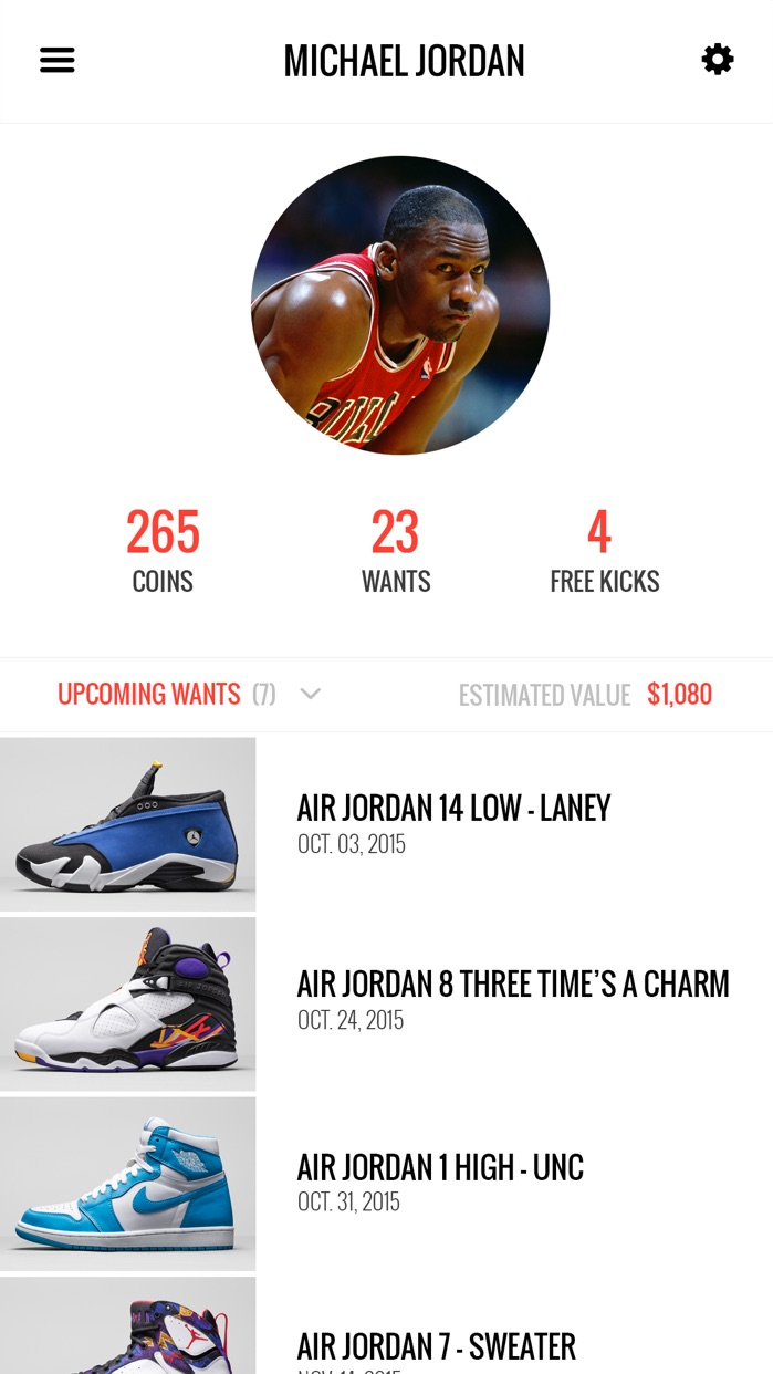 KicksOnFire: Release Dates, Shop & Sneaker News Screenshot