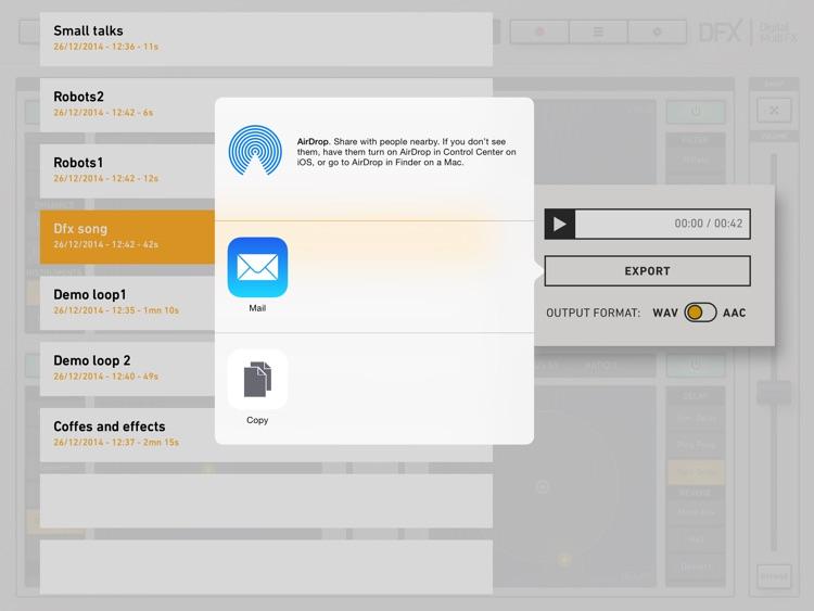 DFX - Digital Multi-FX screenshot-4
