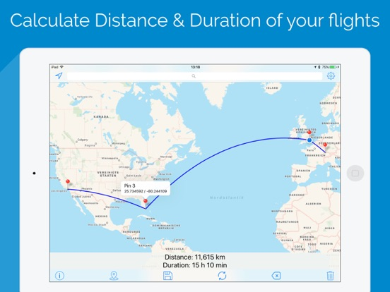 World Map Distance Calculator.Flight Distance Calculator App Price Drops