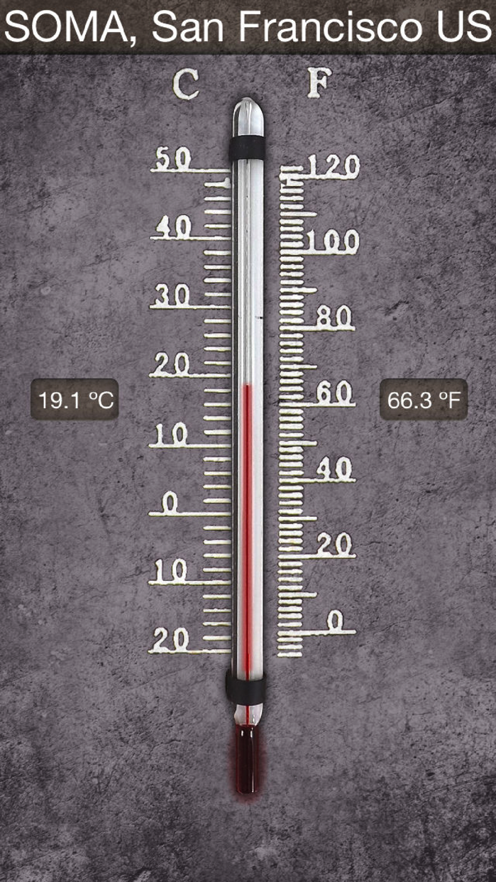 HD Thermometer ⊎ Screenshot