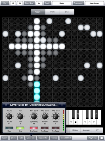 Screenshot #4 pour Aurora Sound Studio HD