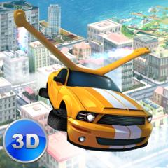 Flying Car Driver Simulator 3D