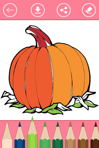 Halloween Coloring Book for Kids: Learn to color - náhled