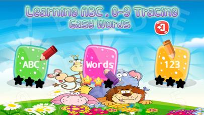 kids A-Z alphabet tracing reading