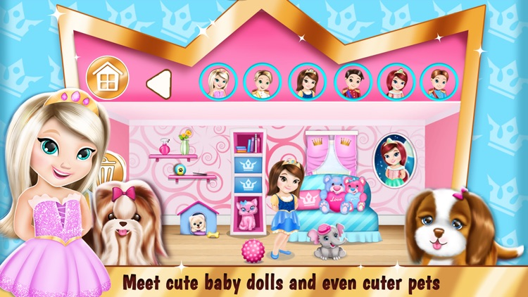 Princess Room Decoration Game – Dollhouse Designer screenshot-3