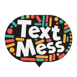 Ícone do app Text Mess - turn your messages into art