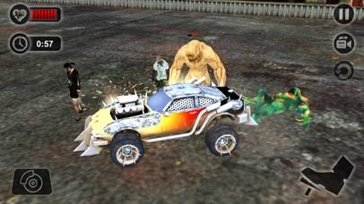 Zombie Smash Car Derby - Zombies Tsunami Killer 3D screenshot four
