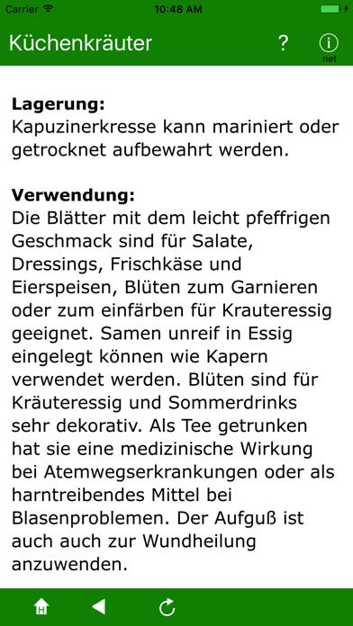 Screenshot for Küchenkräuter in Germany App Store