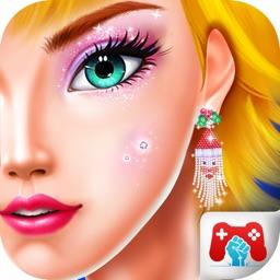 Christmas Girl Spa Makeup