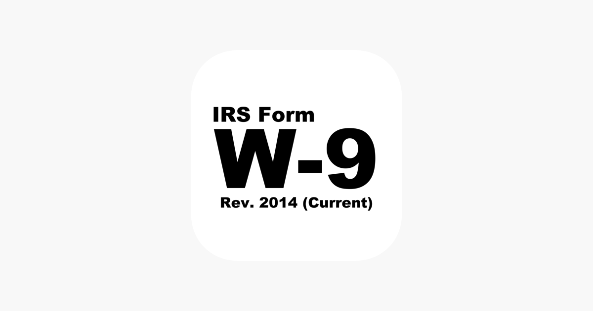 W9 Form Sign And Send Irs Form W9 On The App Store