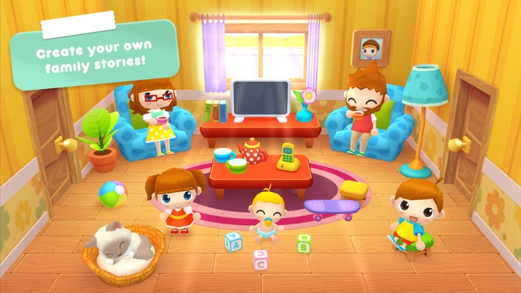 Sweet Home Stories - My family life play house (F)
