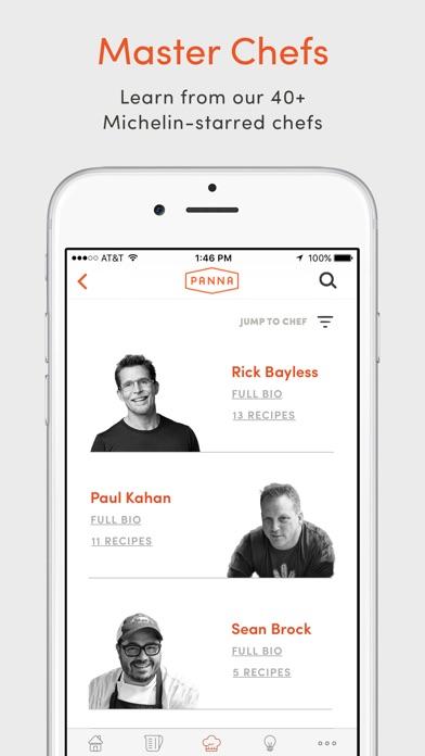 Panna: Video Recipes & Classes app image