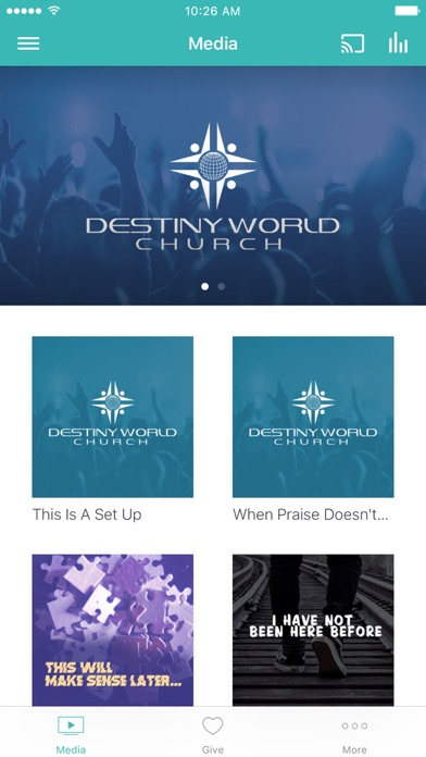 Destiny World Church screenshot 1