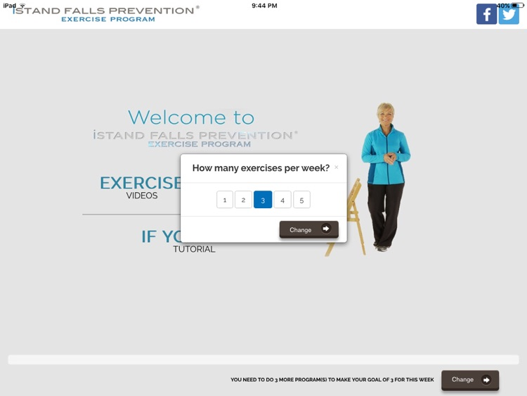 iStand Falls Prevention® Exercise Program screenshot-1