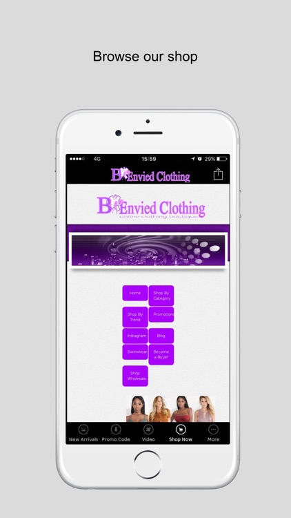 B*Envied Online Clothing