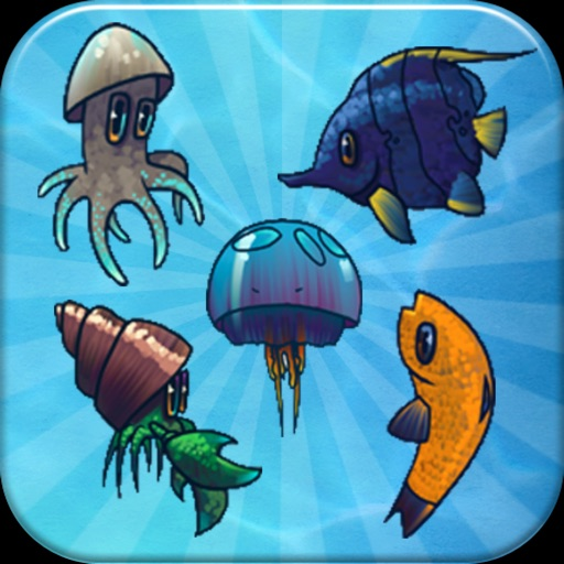 Aquarium Pairs - Play match sweet fish jam game!