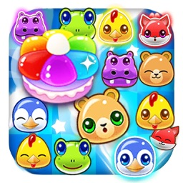 Pets Link Puzzle Pop 2017: Free Blast Match Games
