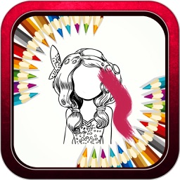 """Coloring Book Game - """"for Mia and Me Version"""""""