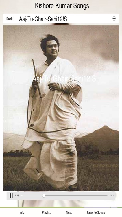 Kishore Kumar Hit Songs screenshot-3