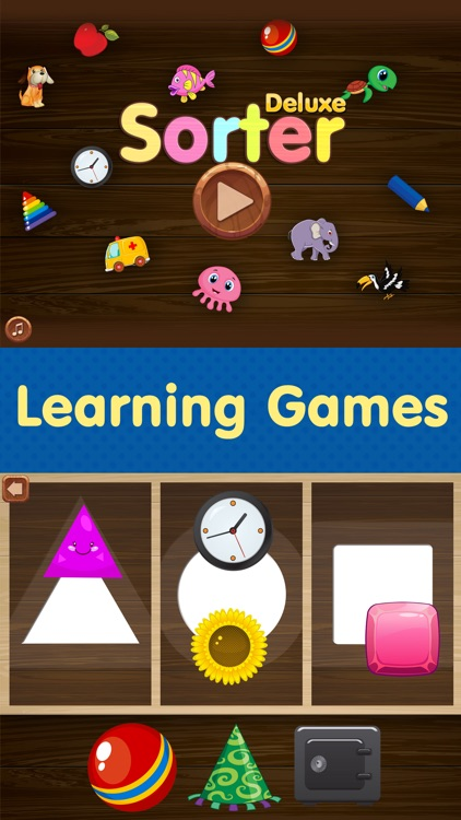 Sorter - Toddler & Baby Educational Learning Games