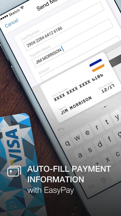 SecureKeyboard — File sharing, custom theme app image