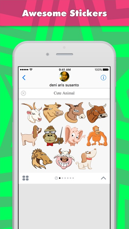 Cute Animal stickers by dennyranch_illustrations