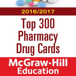 McGraw-Hill's 2016/17 Top 300 Pharmacy Drug Cards