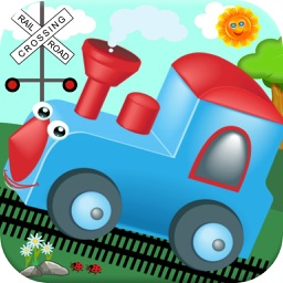 Kids Trains! Baby Games for One & Two Year Olds