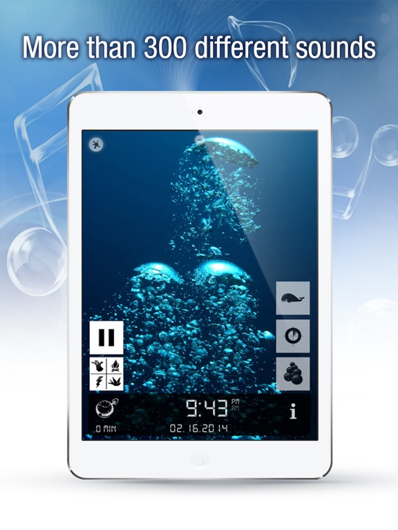 Screenshot #1 for Sleep Bug Pro: White Noise Soundscapes & Music Box