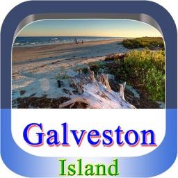 Galveston Island Offline Map Guide