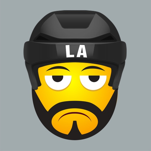 LA Hockey Stickers & Emojis