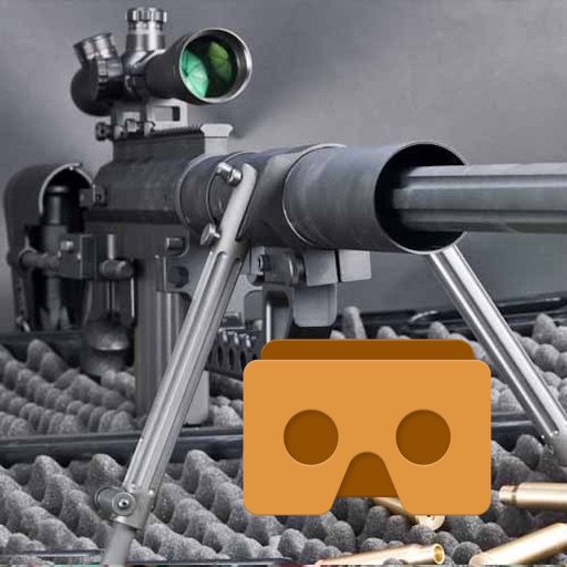 Sniper VR with Google Cardboard icon