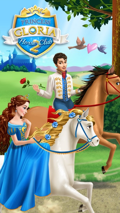 Princess Gloria Horse Club 2 - Care & Makeover Fun screenshot 1